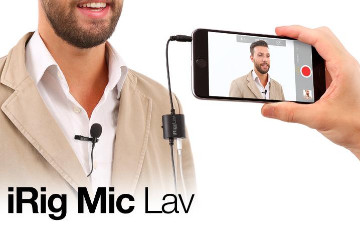 iRig Lavalier clip on mic